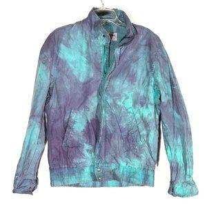 Members Only Vintage x Custom Tie Dye Small Jacket